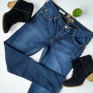 Kut from the Kloth Dark Wash Diana Skinny Jeans 10